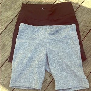 2 prs athletic workout shorts Sz M Old Navy
